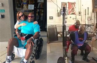 """ضريبة الشهرة.. بطل كمال الأجسام يقضي حياته فوق """"كرسي متحرك"""""""