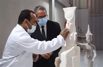 تعرف على تفاصيل أول مصنع للمستنسخات الأثرية في مصر