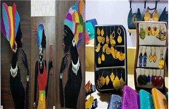 «صُناع بلدنا» يبدعون في الحرف اليدوية بخامات مصرية 100%