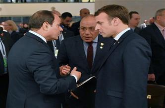 الرئيس السيسي يتلقى اتصالًا هاتفيًا من ماكرون ويناقشان تعزيز التعاون الاقتصادي والعسكري
