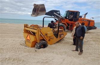مدينة مرسى مطروح ترفع كفاءة الشواطئ استعدادا لموسم الصيف  صور