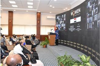 وزيرة التخطيط: تمكين المرأة الإفريقية جزء أساسي من أجندة الحكومة المصرية