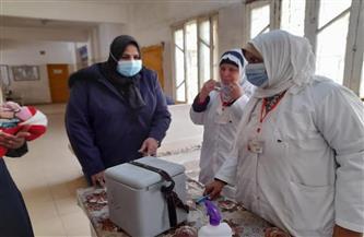 صحة كفر الشيخ: تطعيم 370 ألفا و282 طفلًا ضد شلل الأطفال في أول أيام الحملة القومية  صور