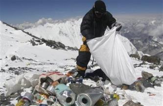 متحف جديد لإعادة تدوير مخلفات قمة جبل إيفرست البالغة 140 طنا من القمامة