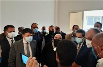 وزيرة التجارة تتفقد المجمع الصناعي ومصانع الغزل والنسيج بالمحلة | صور