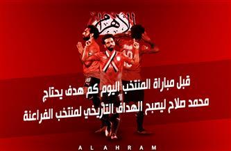 محمد صلاح ينتظر تحقيق رقم قياسي جديد مع المنتخب أمام جزر القمر اليوم | إنفوجراف