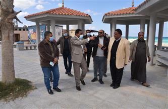 محافظ مطروح: الانتهاء من تطوير شاطئ الليدو الشهر الحالي   صور