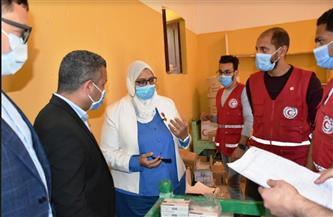 """نائب محافظ أسوان يتفقد قافلة طبية لصندوق """"تحيا مصر"""""""