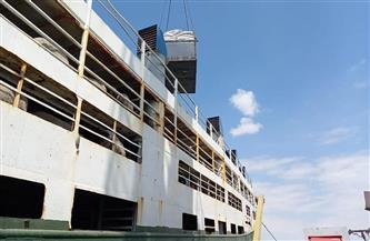 وزير الزراعة: إمداد سفن الحيوانات العالقة بـ 310 أطنان أعلاف ومياه