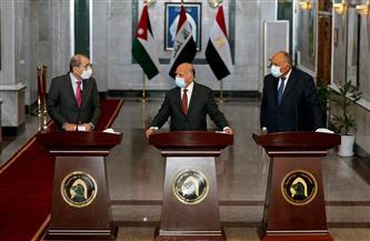 وزير الخارجية: نتطلع إلى عقد القمة الثلاثية في بغداد بأقرب فرصة