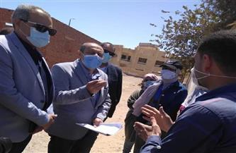 مساعد وزير الصحة يتفقد أعمال الحملة القومية التطعيم ضد شلل الأطفال بالبحر الأحمر  صور