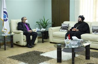 رئيس «الإنجيلية» يستقبل النائب البطريركي للسريان لمناقشة قانون الأحوال الشخصية| صور