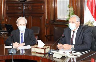 وزير الزراعة يبحث مع سفير اليابان التعاون بمجال تنمية الصادرات الزراعية والاستزراع السمكي | صور