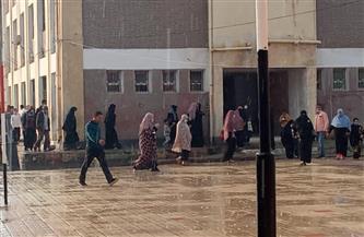 أمطارغزيرة على المناطق الشمالية بكفرالشيخ ومتوسطة في أنحاء المحافظة |صور