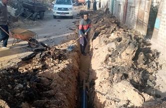 ١٢ مليون جنيه لإحلال وتجديد شبكات مياه الشرب بمركز ساقلته بسوهاج| صور