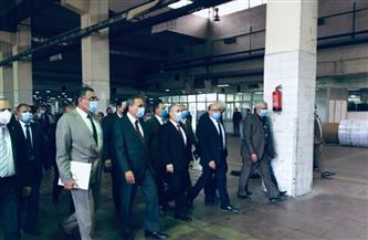 رئيس الوطنية للصحافة: خطة لرفع كفاءة مطابع الأهرام بقليوب ودعم دورها المحوري في الصناعة  صور