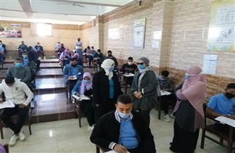 رئيسة مدينة سفاجا تتفقد امتحانات معهد التمريض | صور