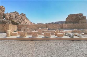 «السياحة والآثار» تنتهي من أعمال المرحلة الثانية من مشروع ترميم وتطوير معبد دندرة بقنا | صور