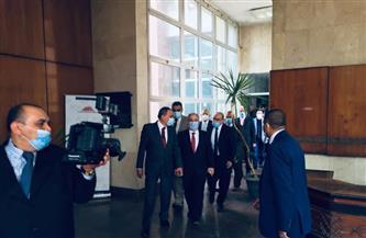 «الشوربجي» خلال زيارته مطابع الأهرام التجارية: حريصون على دعم المؤسسات الصحفية | صور