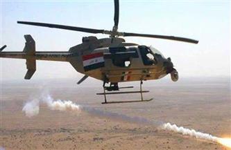 مقتل 4 إرهابيين في قصف لطيران الجيش العراقي بديالي
