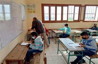 وكيل تعليم البحيرة: لا شكاوى من امتحانى الرياضيات واللغة الأجنبية الثانية لأولى ثانوى | صور
