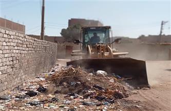 تحرير 84 محضر تموين بأسواق مركز الغنايم .. وحملات نظافة وتسوية وتمهيد طرق | صور