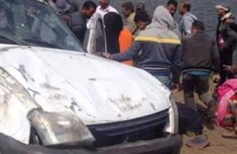 """سقوط تانك محمل بـ """"ماء نار"""" على كوبري جامعة المنصورة"""