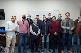 مصر للطيران للخدمات الأرضية تنظم فرقة تدريبية حول السلامة والأمان