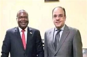 السفير ياسر العطوي يؤكد حرص مصر على تنمية وتوثيق العلاقات مع بوروندي