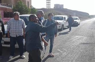 لجنة من وزارة التنمية المحلية لمتابعة المشروعات بمدينة مرسى علم| صور