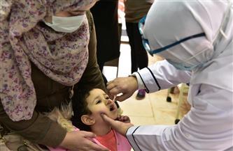 تطعيم 13 مليونا و871 ألفا منهم 13 ألفا و447 طفلاغير مصري ضد شلل الأطفال خلال يومين