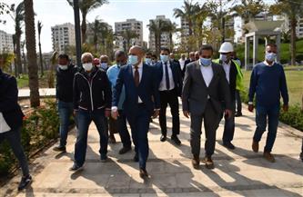وزير الإسكان يتفقد اللمسات الأخيرة من مشروع تطوير بحيرة عين الصيرة