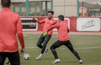 صلاح محسن وشوبير ينتظمان في مران الأهلي