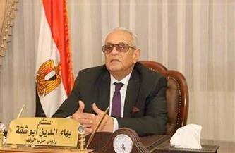 أبوشقة: مصر تسير بخطى سريعة نحو التقدم والرقي في ظل قيادة وطنية حكيمة وواعية