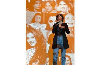 سارة عبد الرحمن في حلقة نقاشية عن المرأة