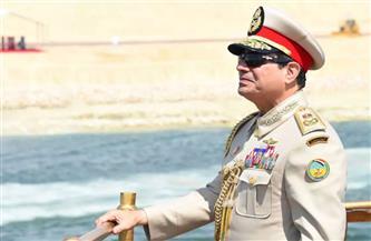 من الخديو إسماعيل للرئيس السيسي.. زعماء مصر على ضفاف القناة | صور