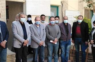 مساعد وزيرة الصحة يتفقد أعمال حملة التطعيم ضد شلل الأطفال بالغردقة | صور
