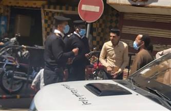 تحرير 133 محضرا في حملة بمدينة الأقصر   صور