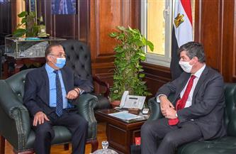 محافظ الإسكندرية يبحث مع السفير البلجيكي تعزيز العلاقات الثنائية   صور