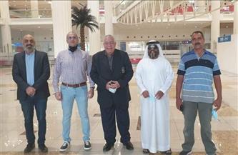 «فهيم» يصل الإمارات لافتتاح بطولة عجمان الأولى لبناء الأجسام