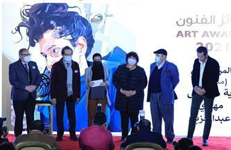بالأسماء.. إعلان جوائز مؤسسة فاروق حسنى للثقافة والفنون بحضور إيناس عبد الدايم | صور
