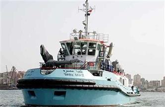 """عودة القاطرتين """"تحيا مصر"""" لميناء السخنة بعد مشاركتهما في تعويم إيفرجيفن بقناة السويس"""