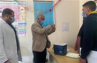 وكيل صحة الغربية يتفقد حملة التطعيم ضد مرض شلل الأطفال| صور
