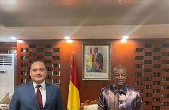 رئيس غينيا يشيد بالرئيس السيسي والإمكانيات المصرية الكبيرة في شتى المجالات