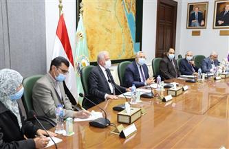 وزيرا الزراعة والبيئة ومحافظ جنوب سيناء يبحثون آليات تنمية الثروة السمكية | صور