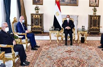 الرئيس السيسي يؤكد العلاقات التاريخية الودية بين مصر وكرواتيا