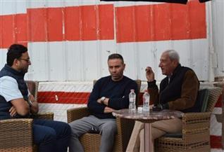 حازم إمام وميدو يطالبان لاعبي الزمالك بالفوز على المولودية