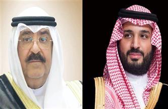 ولي عهد الكويت يتلقى رسالة شفوية من ولي العهد السعودي