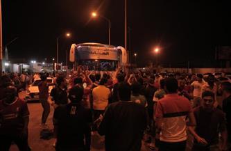 جماهير الأهلي في السودان تستقبل بعثة الفريق