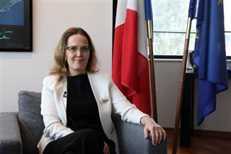 فرنسا تؤكد تأييد بلادها لإعادة توحيد قبرص